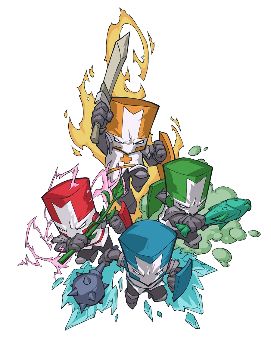 Aichomancer's Character Tiers - Castle Crashers - The ...