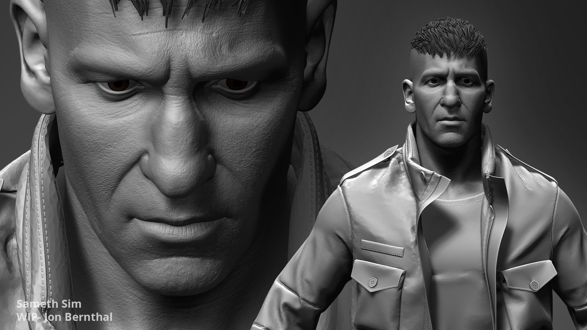 Wip The Punisher Jon Bernthal Polycount