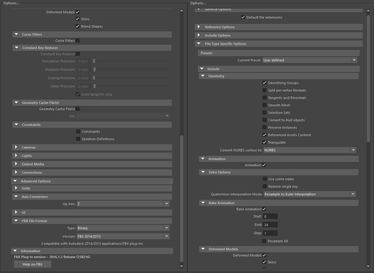 Maya FBX exporting won't bake blend shape animation : Maya