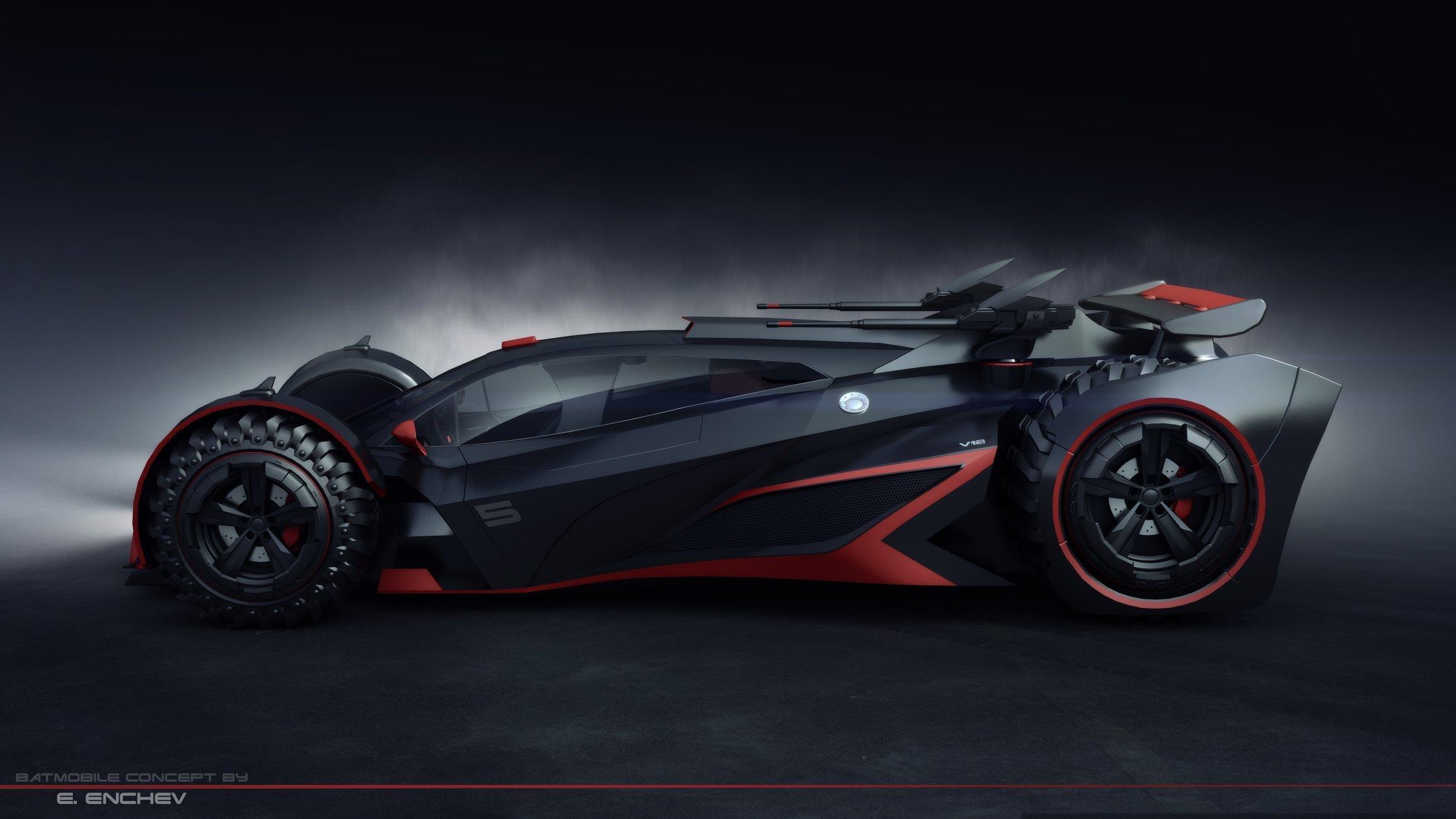 batmobile concept V12 — polycount