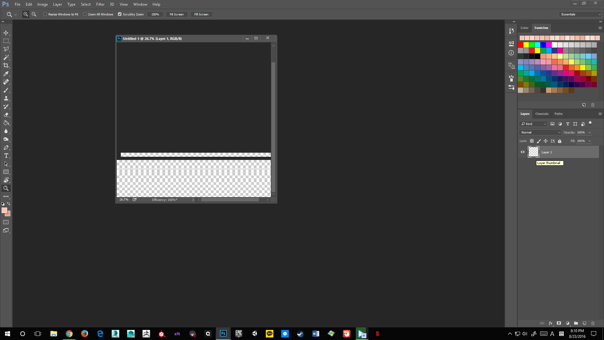 Photoshop cc 2015 error in my new PC!!!! — polycount