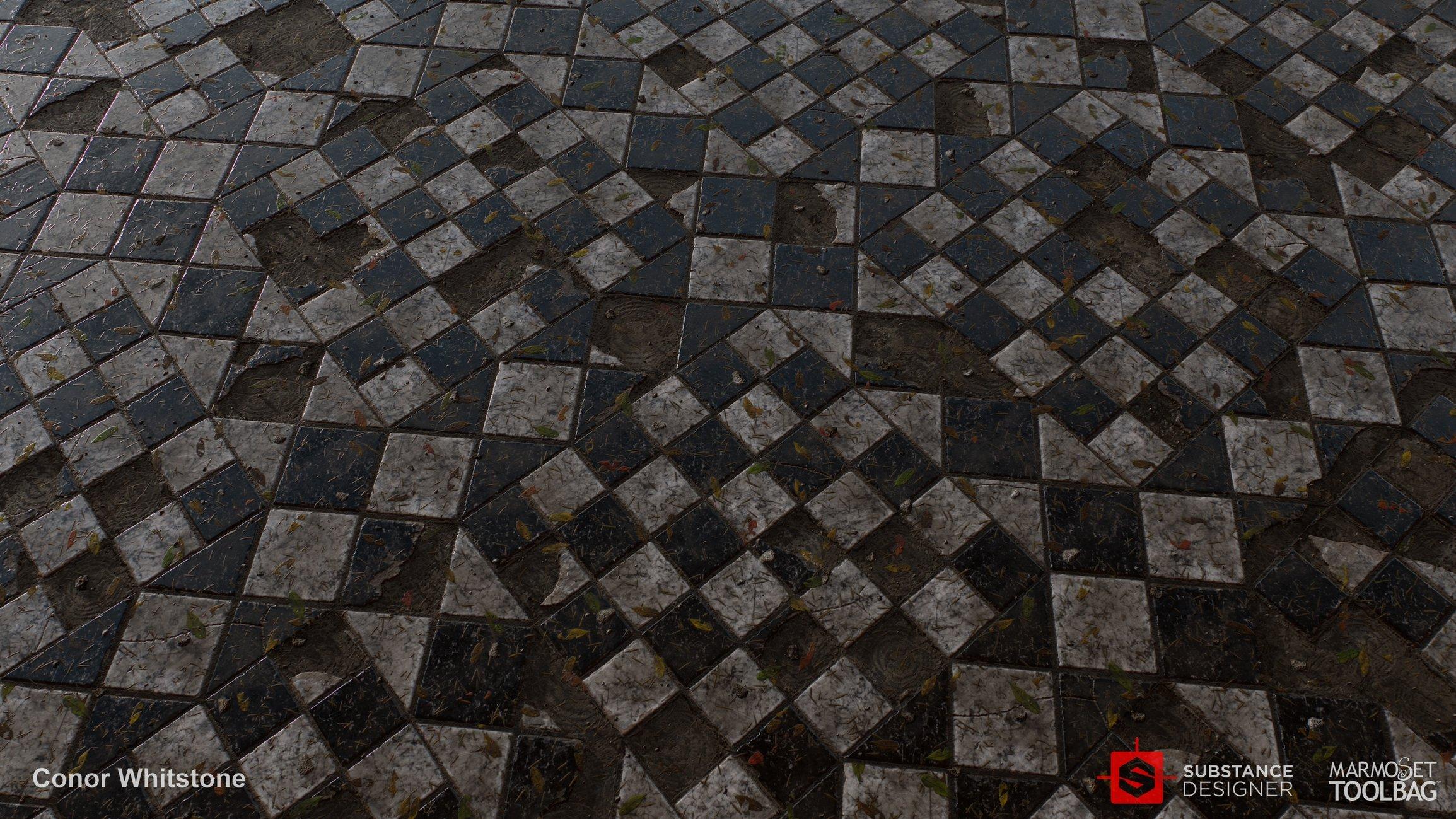 Broken Floor Tile Help Updated Polycount