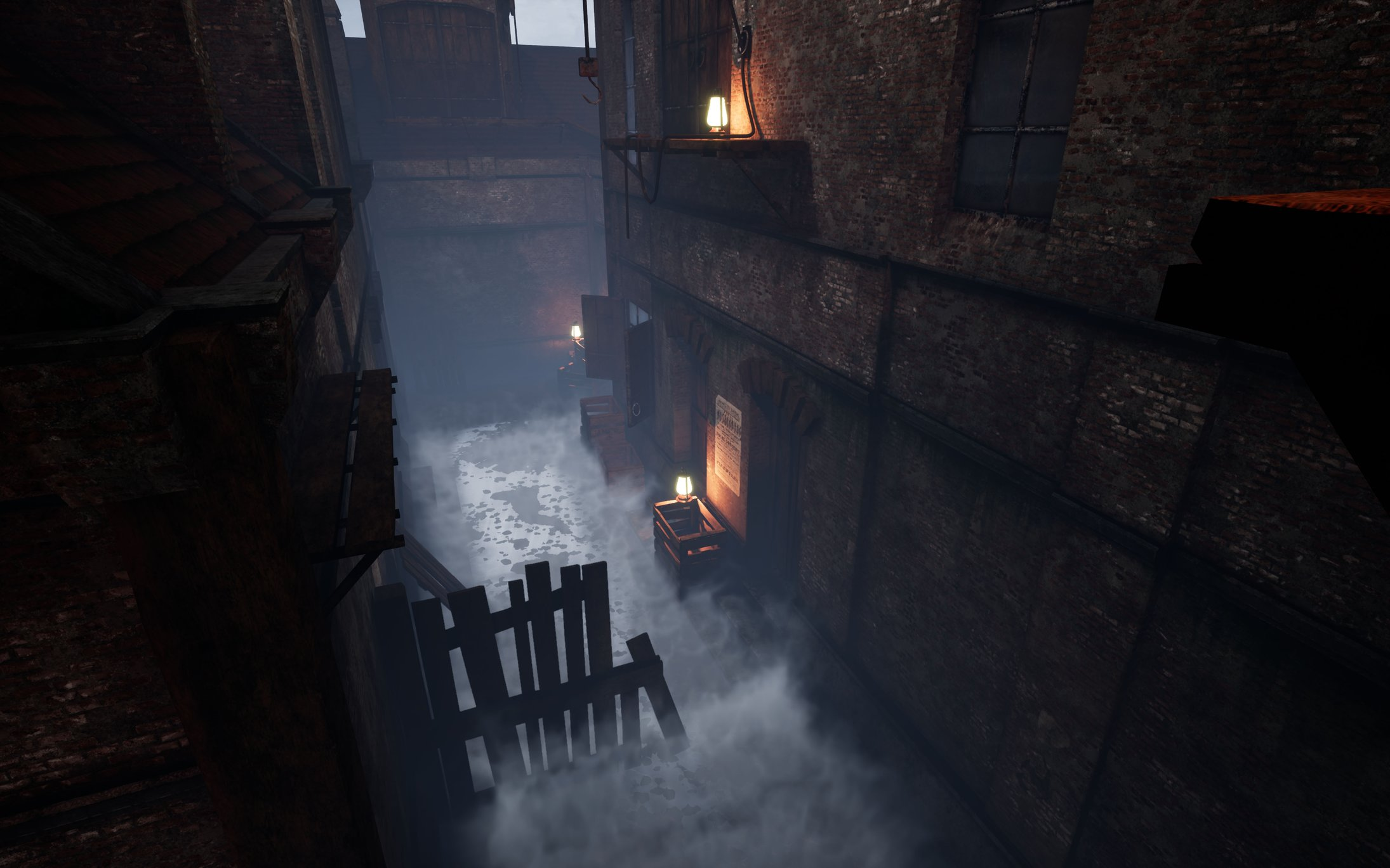 UE4] Cloud system and Interactive Fog particles — polycount