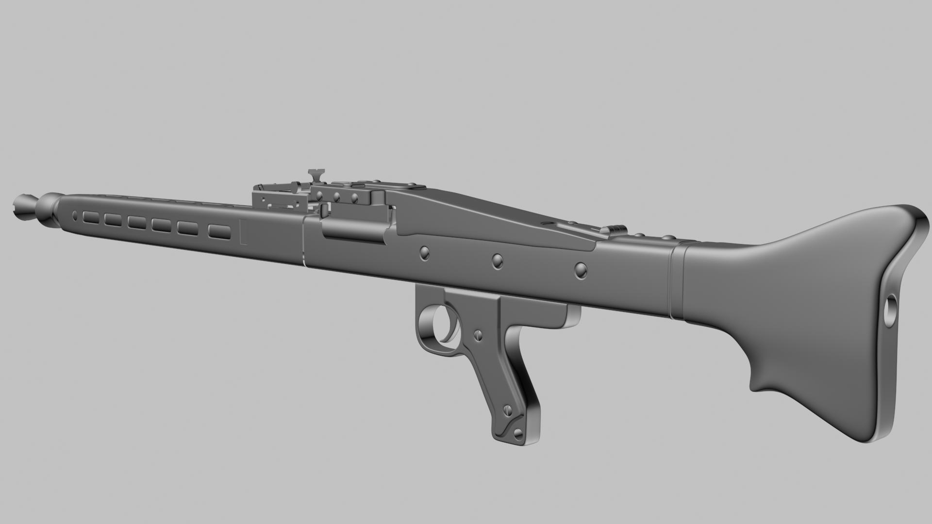 MG42- WIP — polycount