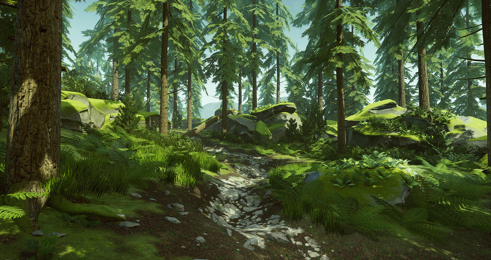 UE4] Forest Path — polycount
