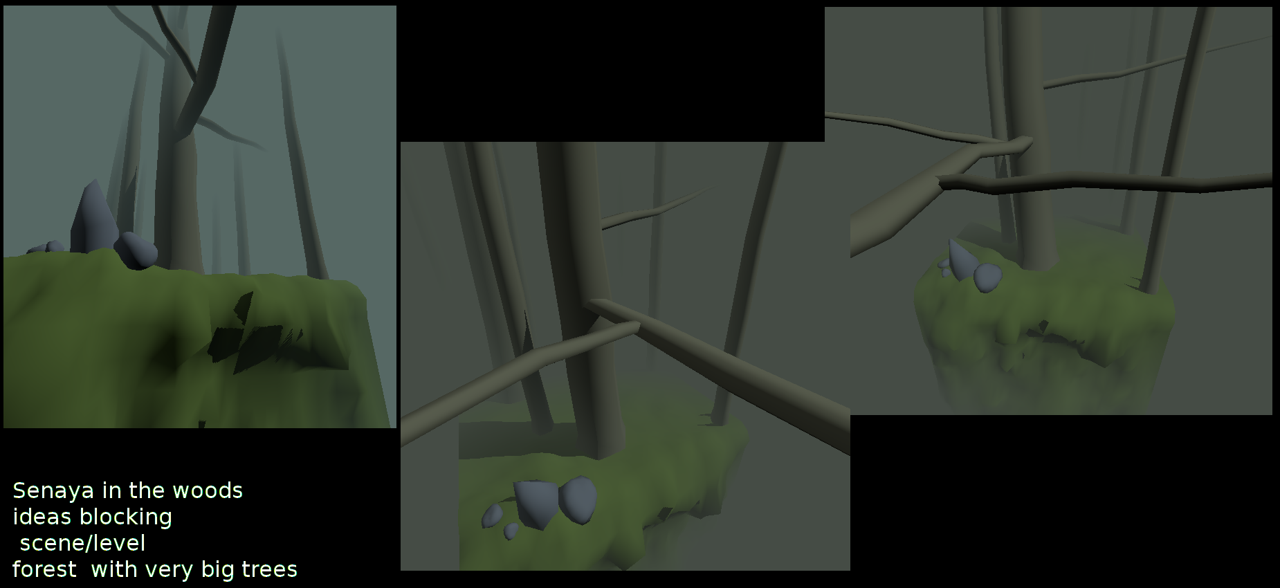 SENAYA-elf girl character+environment[GODOT Engine]WIP