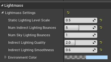 Unreal Lighting Modular - Problem and general question