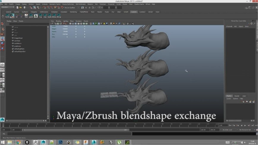 Styx - Zbrush/Maya/Max tool — polycount