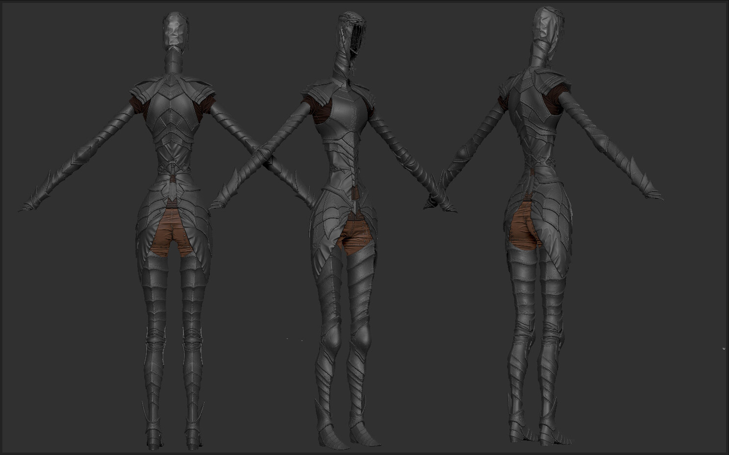 Wip Dark Souls Iii Dancer Of The Boreal Valley Polycount