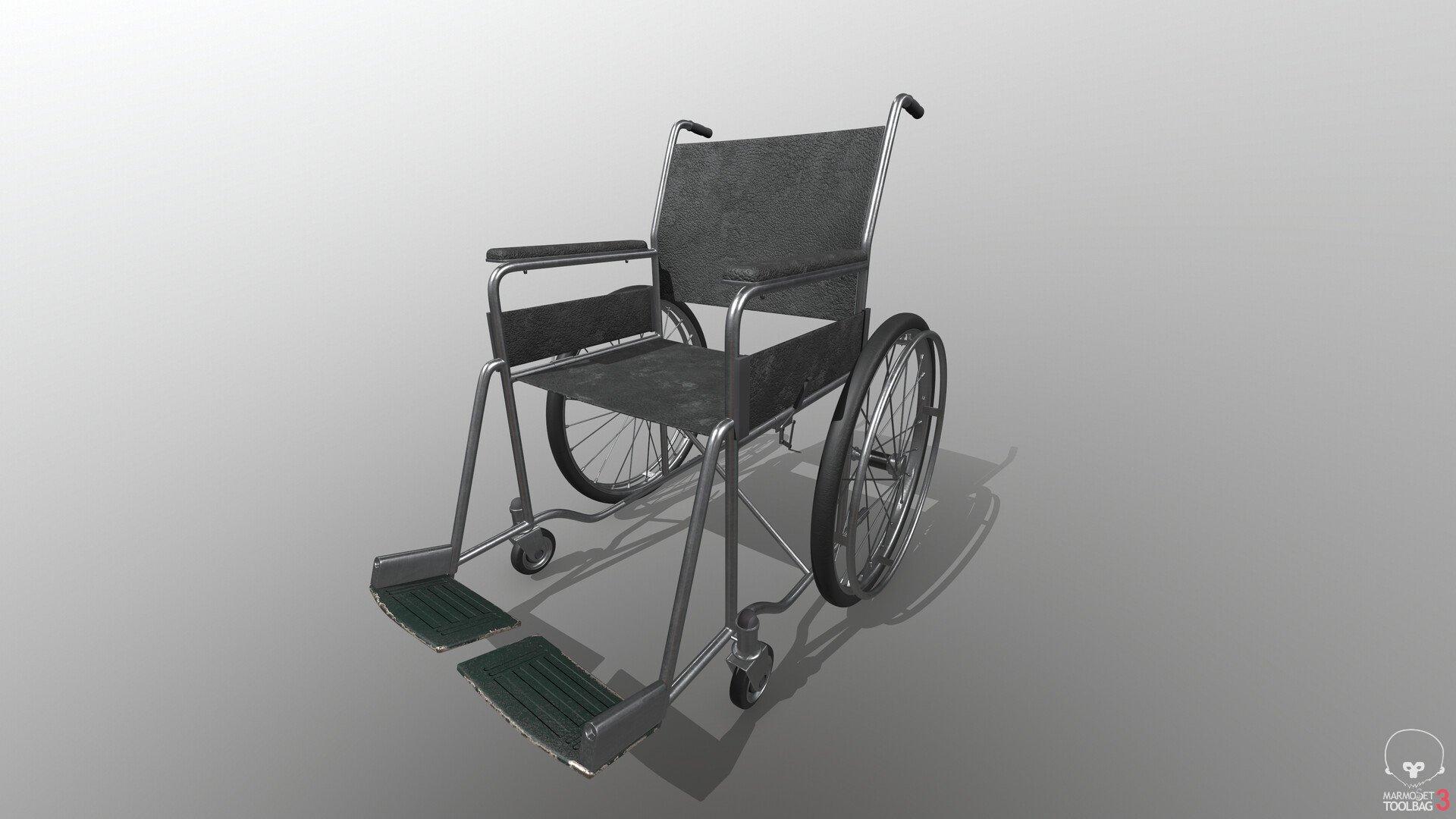 Wheel Chair Polycount