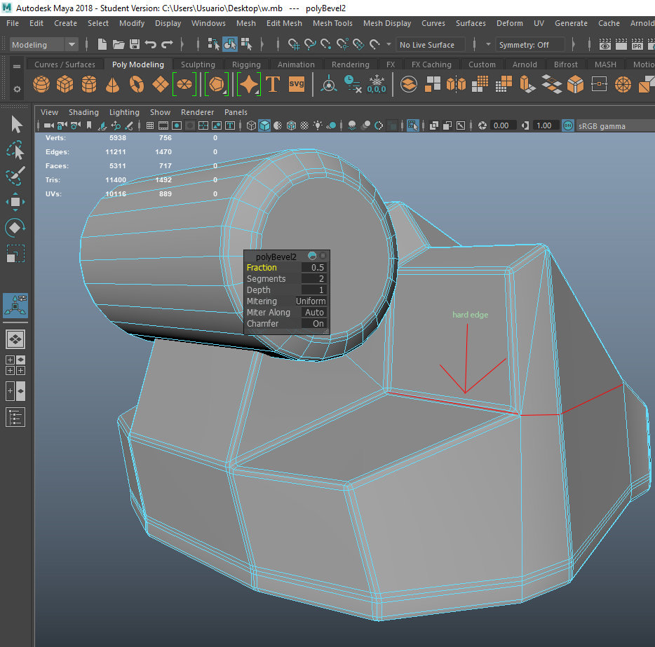 smoothing groups on maya ? — polycount