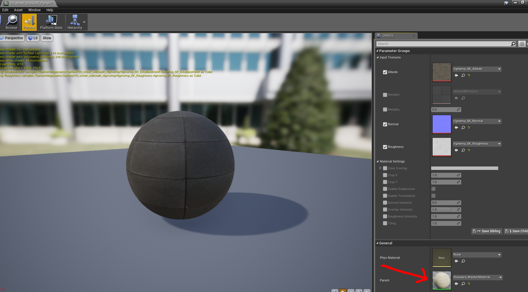 Answered: From Bridge to UE4 Material not working — polycount