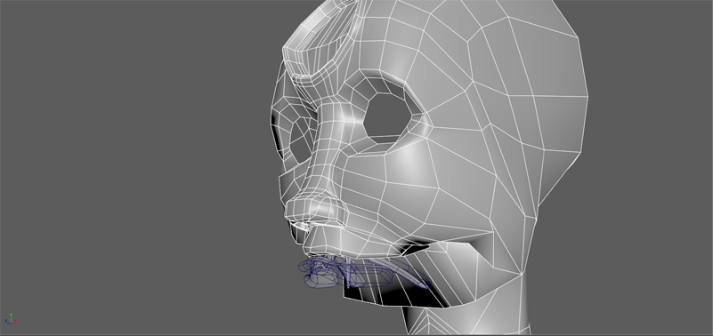 Autodesk Maya 2016, New(for me) Rig & BlendShape Issue, with