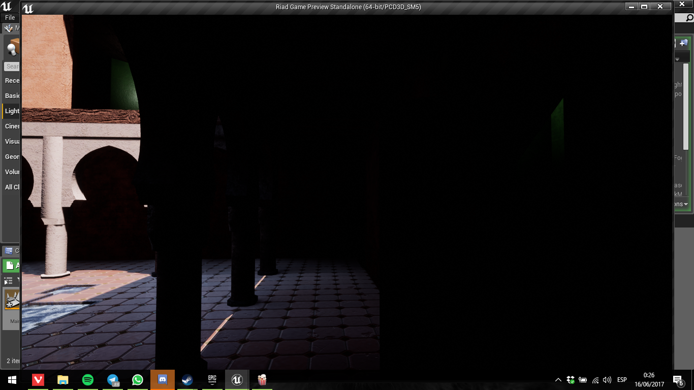 Question: Shadows are too dark, why? — polycount