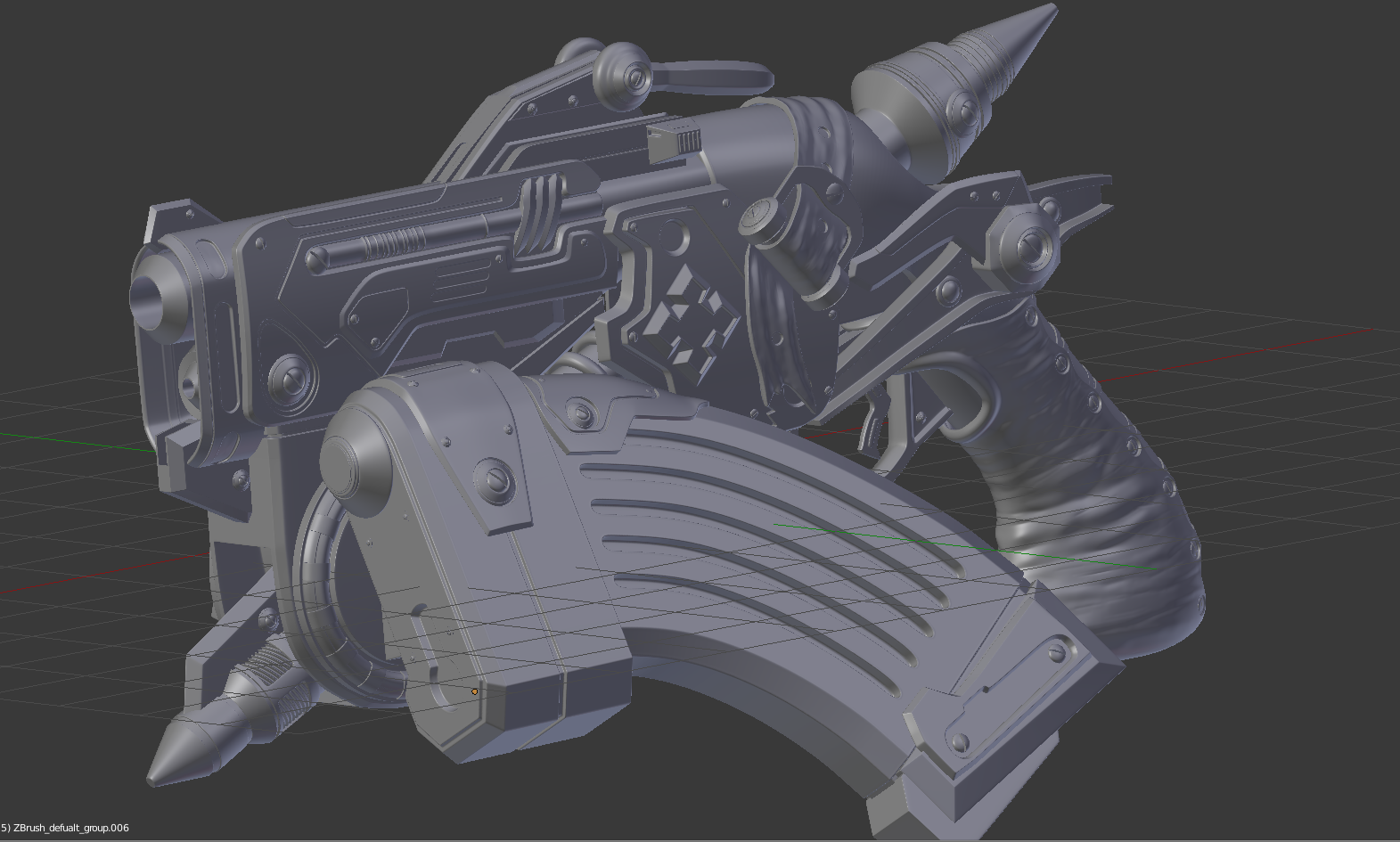 Finished] Gorgon Pistol Gears of War — polycount