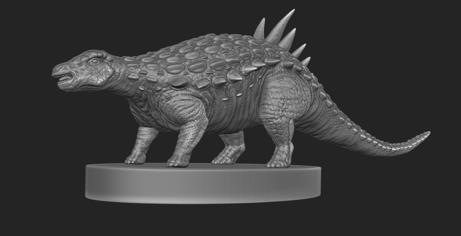 miniature/ prop Sculptor for 3D printing — polycount