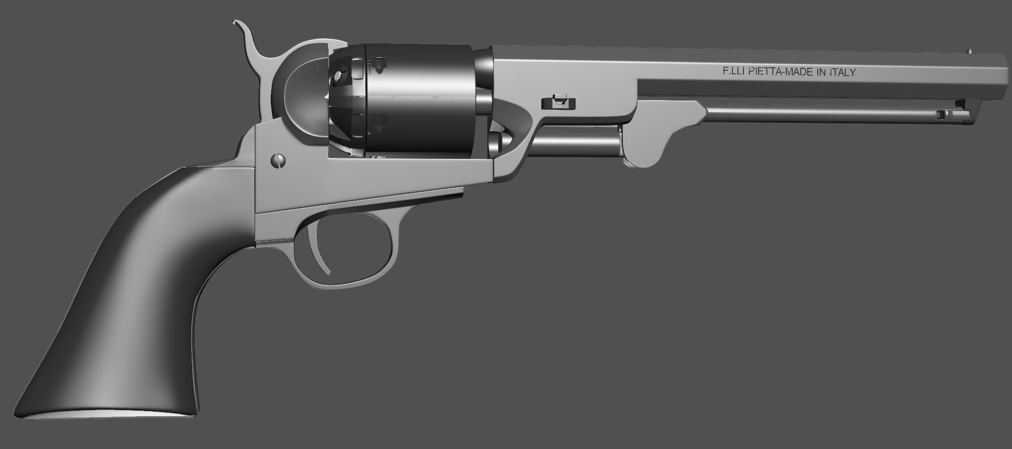1851 Colt Navy revolver manual