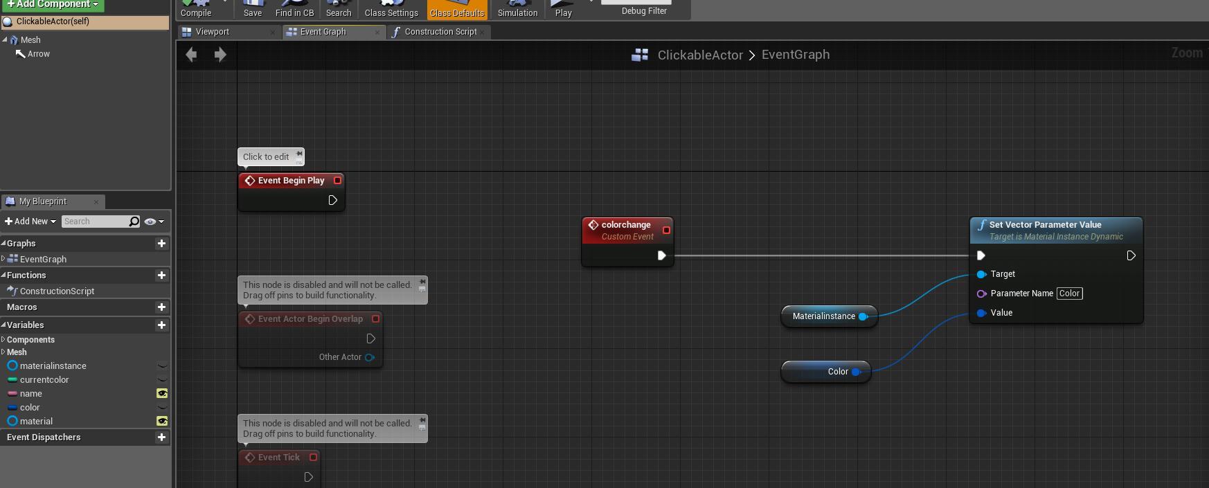 Ue4 technical tutorials chapter 3 usage of custom actors design cactoreventgraphg 4203k malvernweather Gallery
