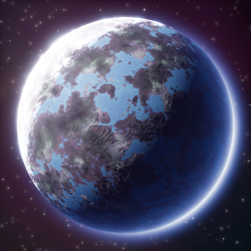 Planet Generator - Dots In Space — polycount