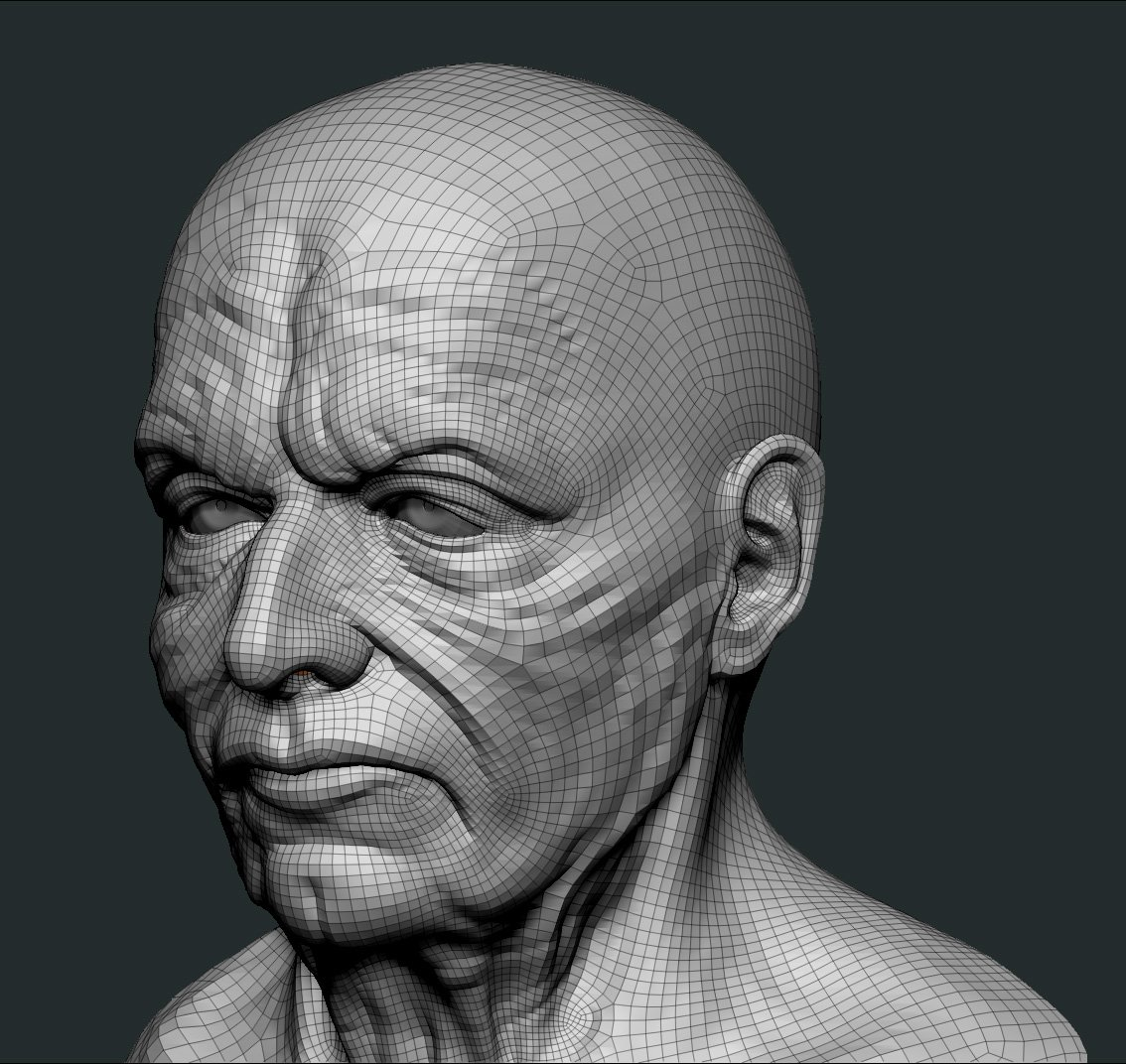 zbrush exporting displacement problem — polycount