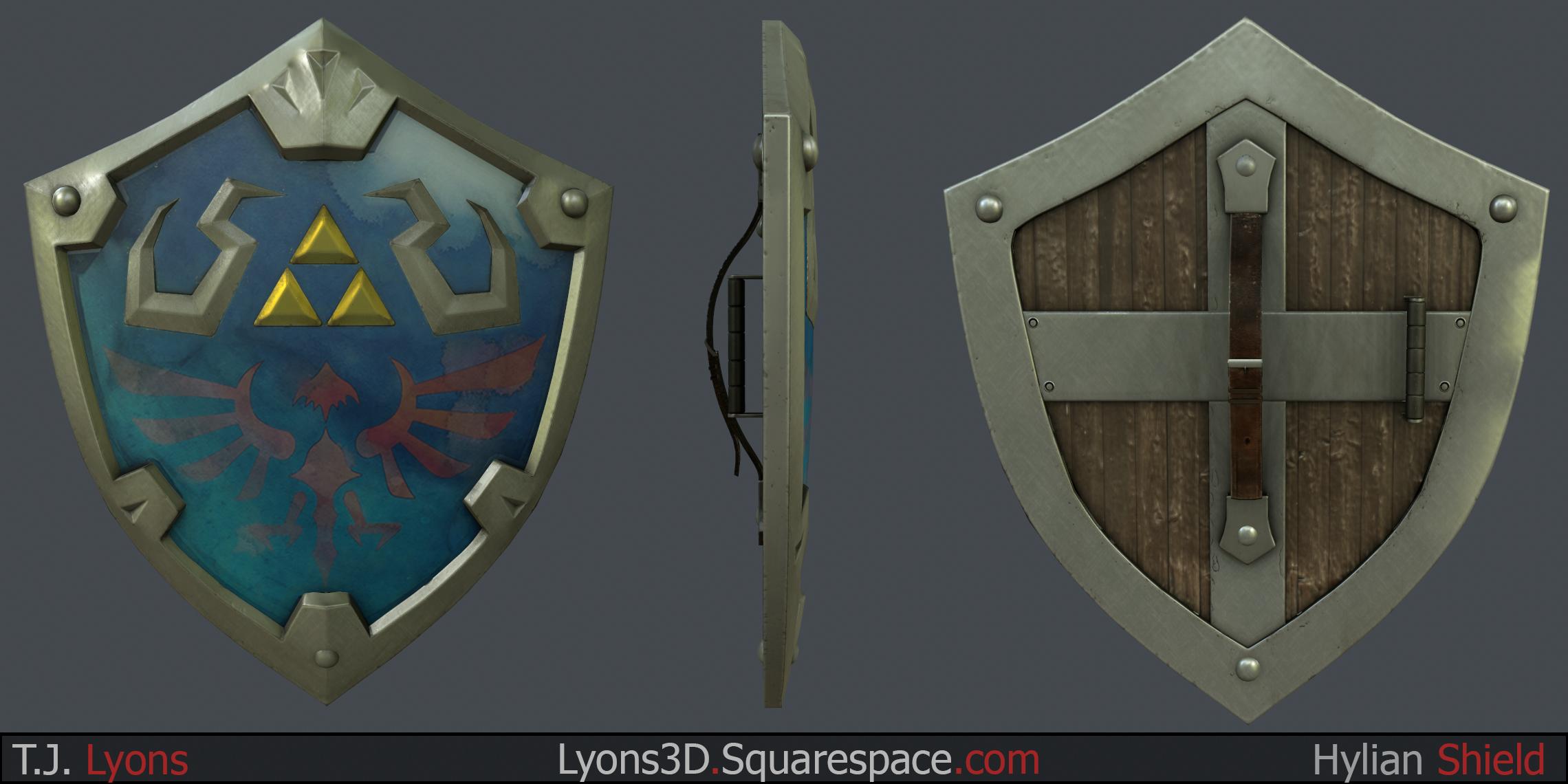 Hylian Shield Fan Art Polycount