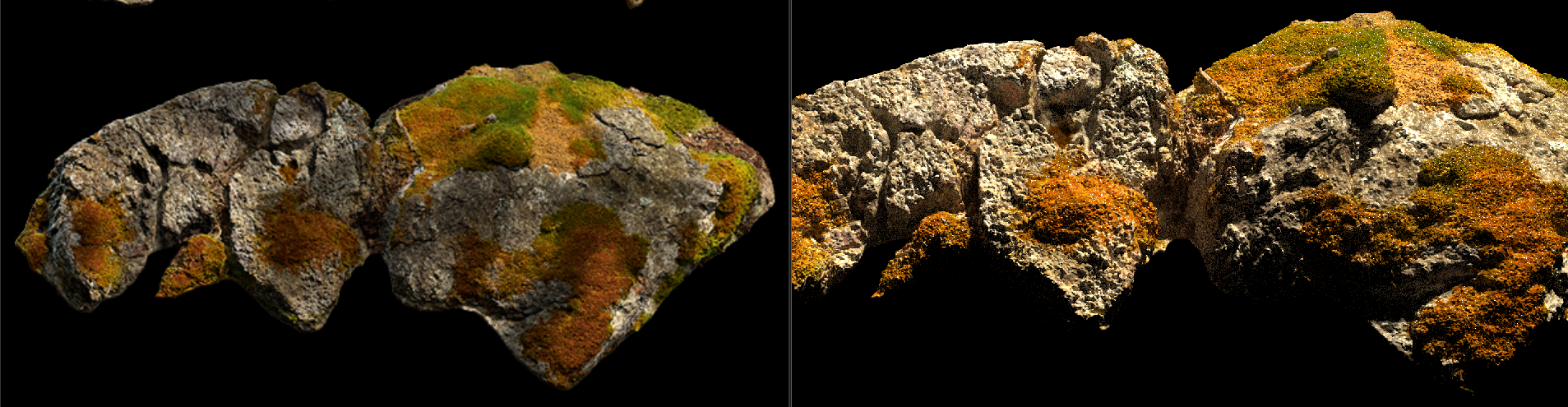 Render Megascans asset with redshift and houdini ? — polycount