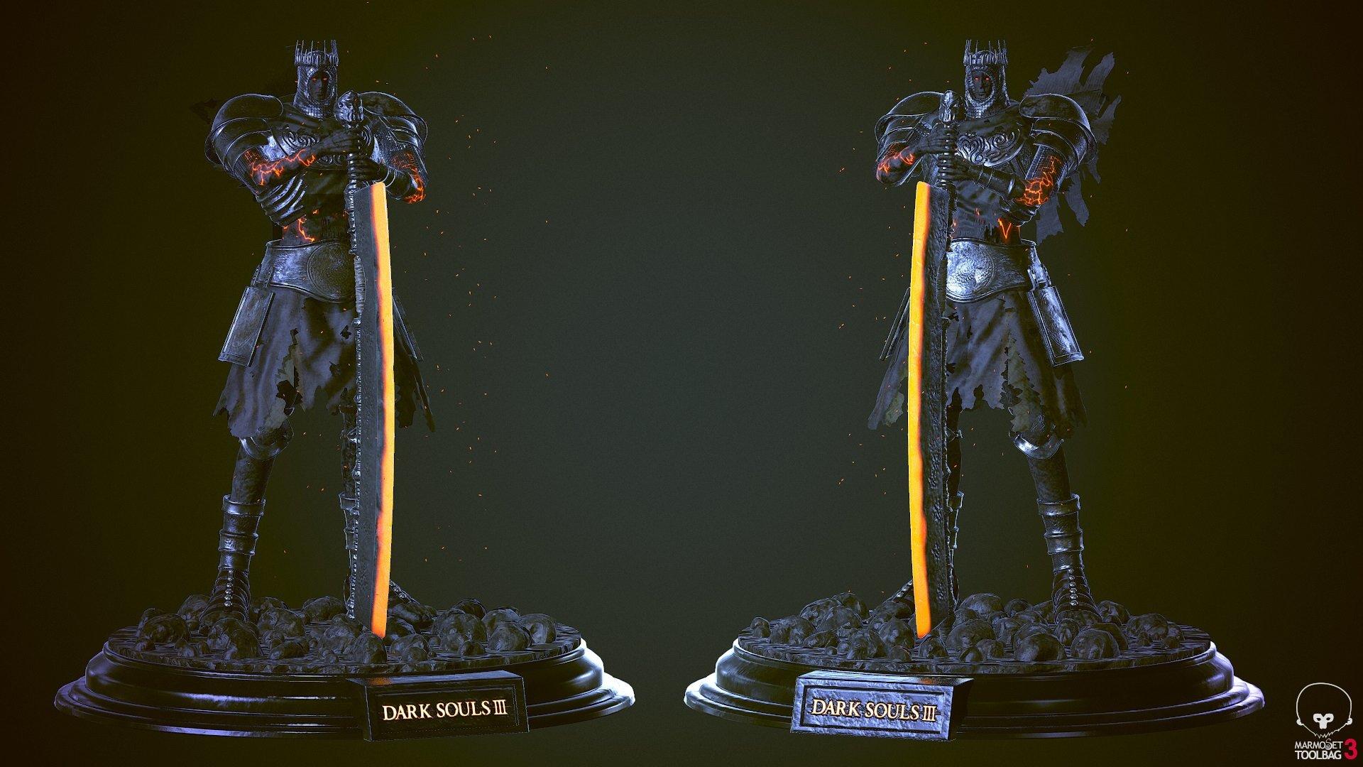 Yhorm The Giant - Dark Souls 3 Fanart — polycount