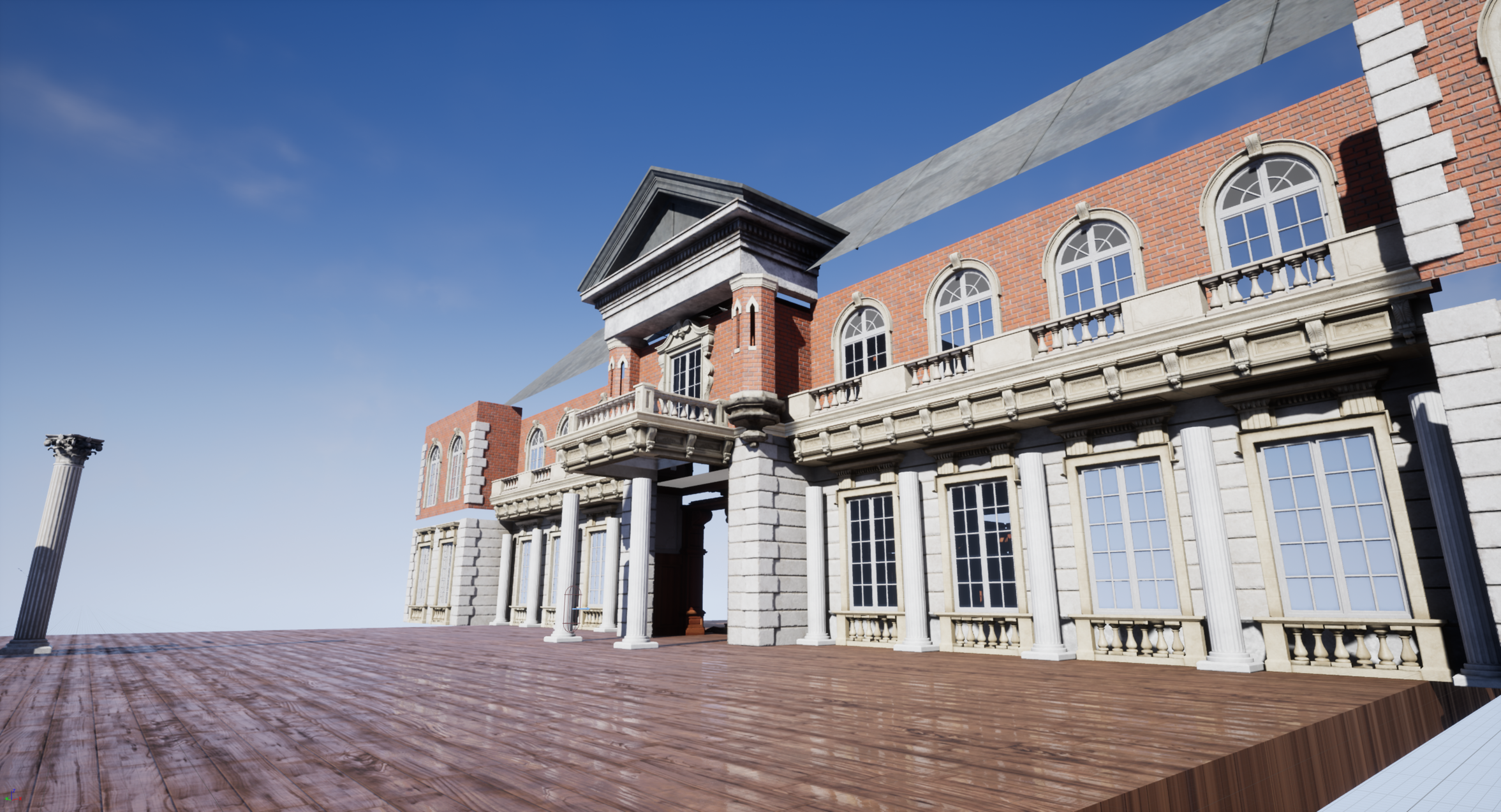 Mansion Environment - Unreal Engine — polycount