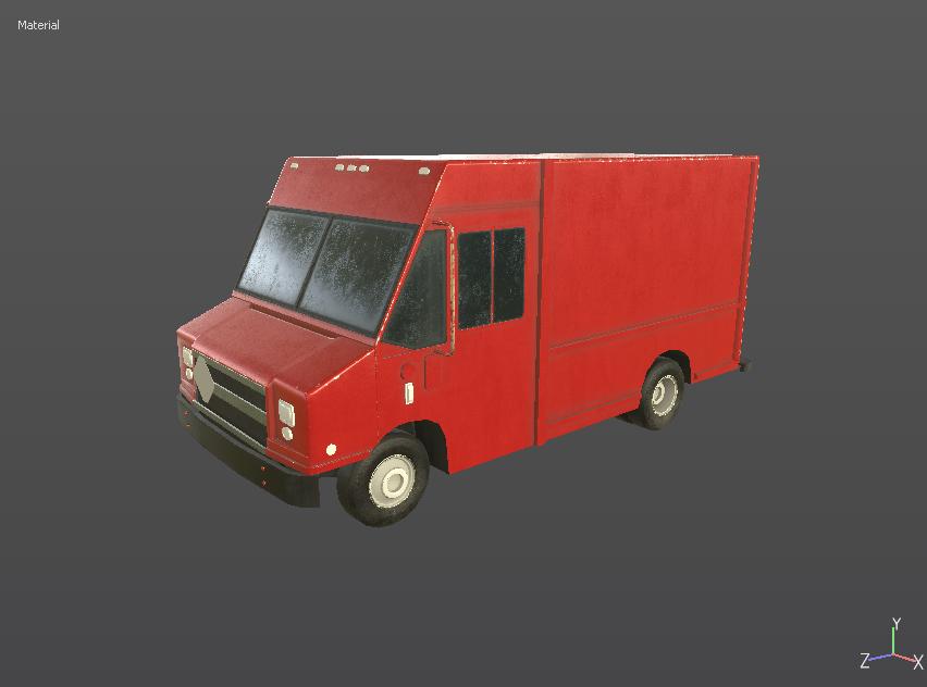 Delivery Van/Step Van [WIP] — polycount