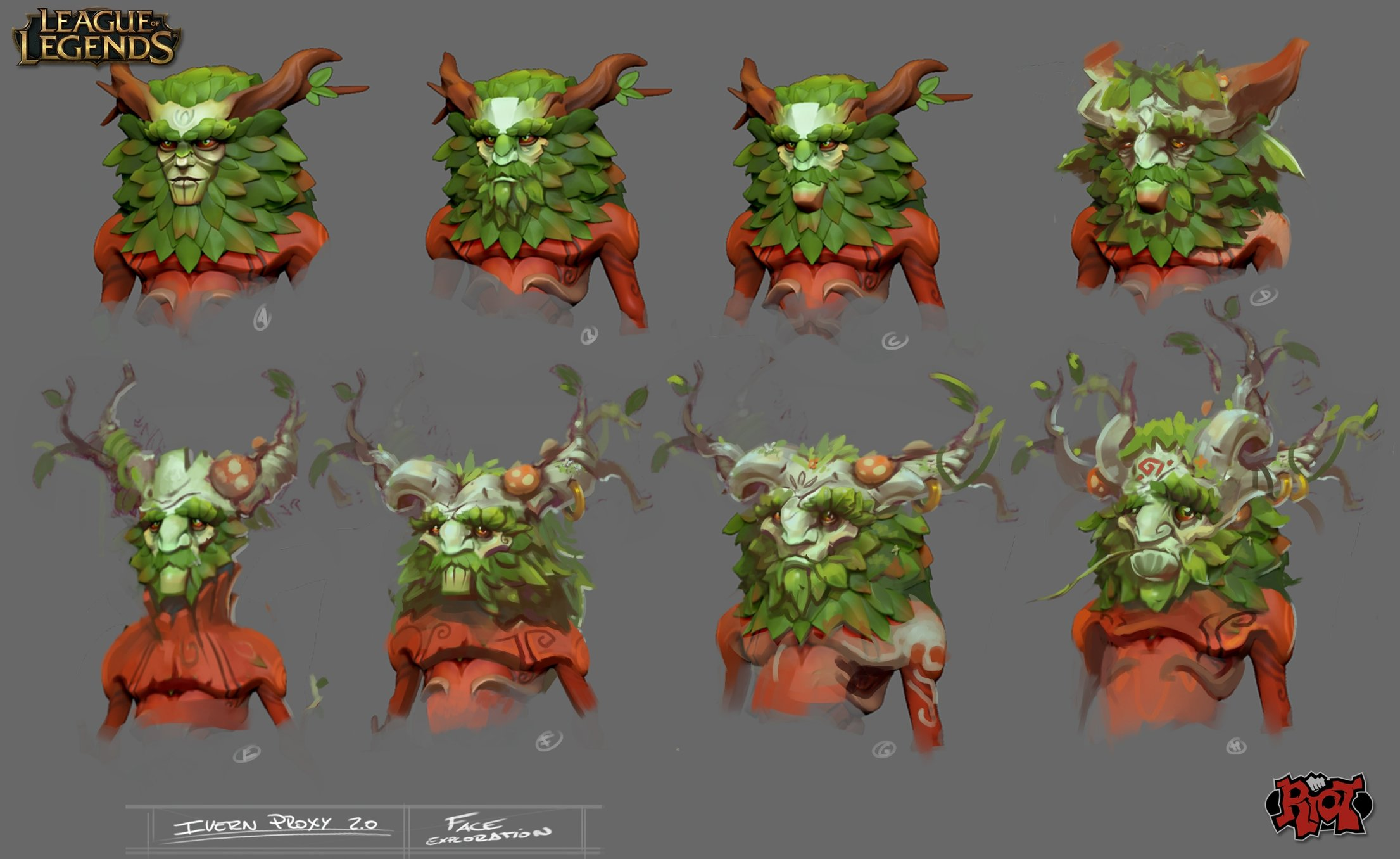Ivern - The Green Father - League of Legends — polycount