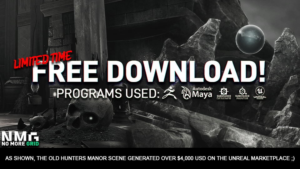 Unreal Engine 4 - 2 FREE Environment Downloads! LIMITED TIME ONLY