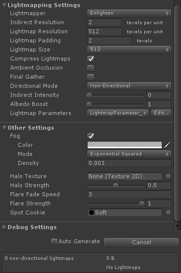 Unity 3d crashing/low memory on baking lightmaps — polycount