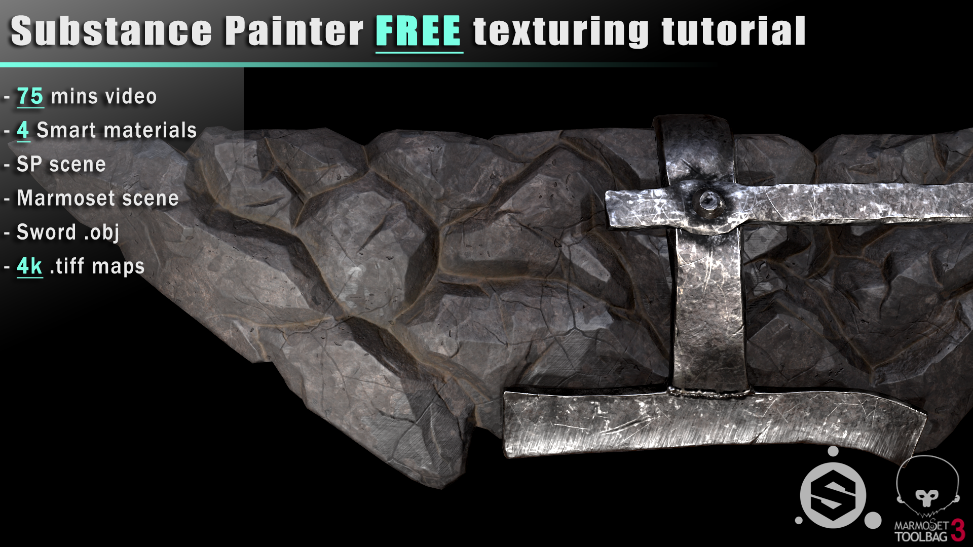 Free Texturing tutorial + assets ( SP 2018 1 ) — polycount