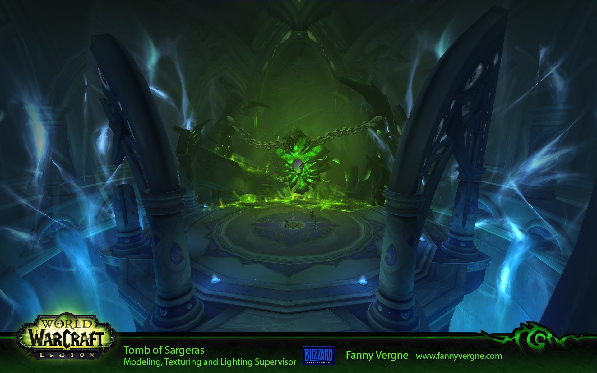 Tomb Of Sargeras Teamwork World Of Warcraft Polycount