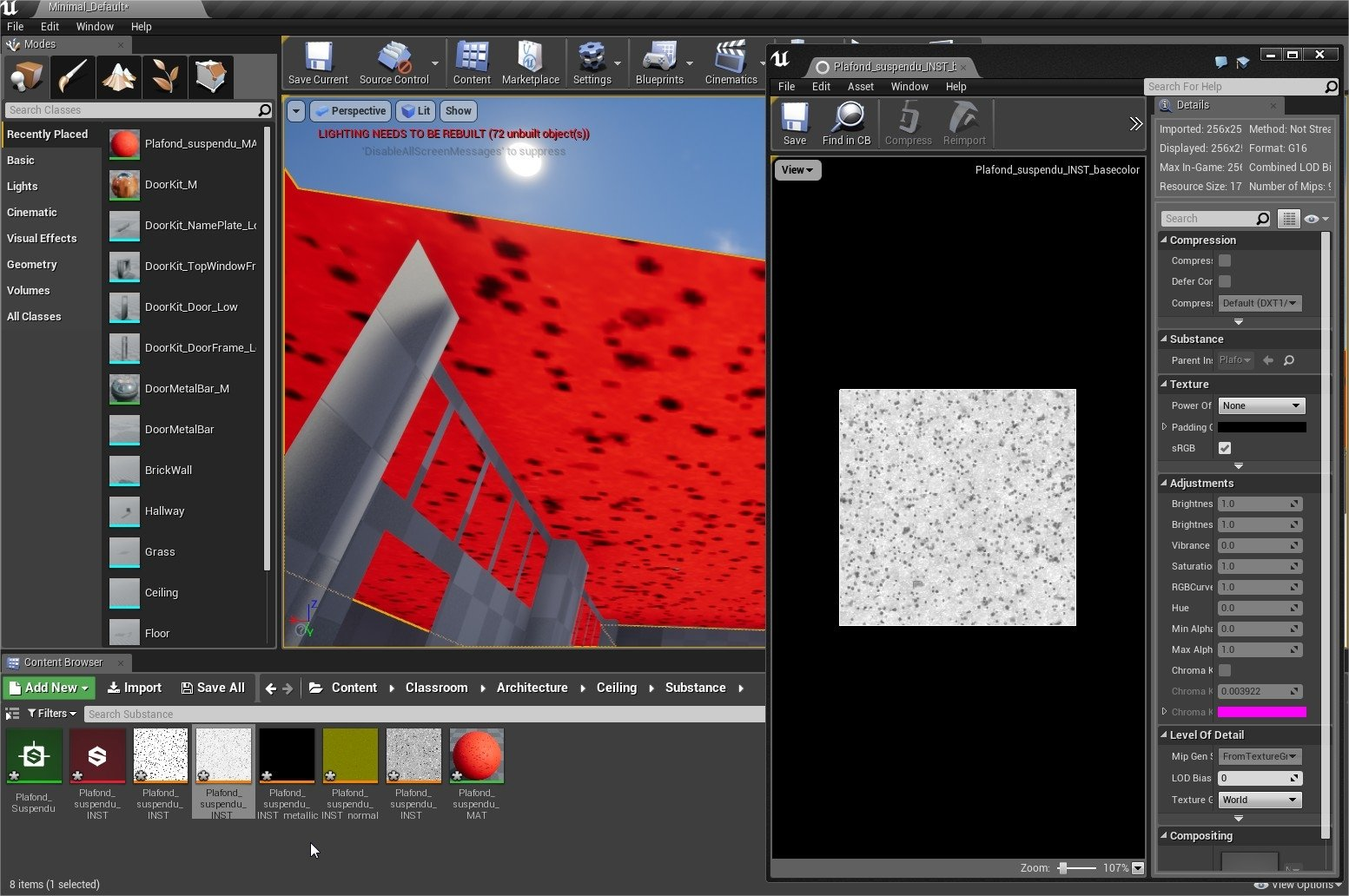 Substance Desginer to Unreal, basecolor map turns out tinted