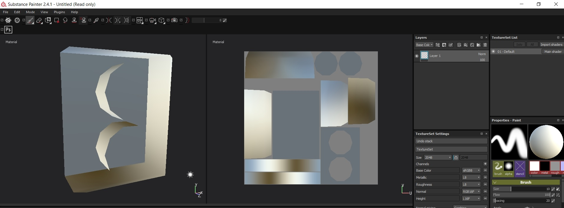 Inverted normals when openig FBX — polycount