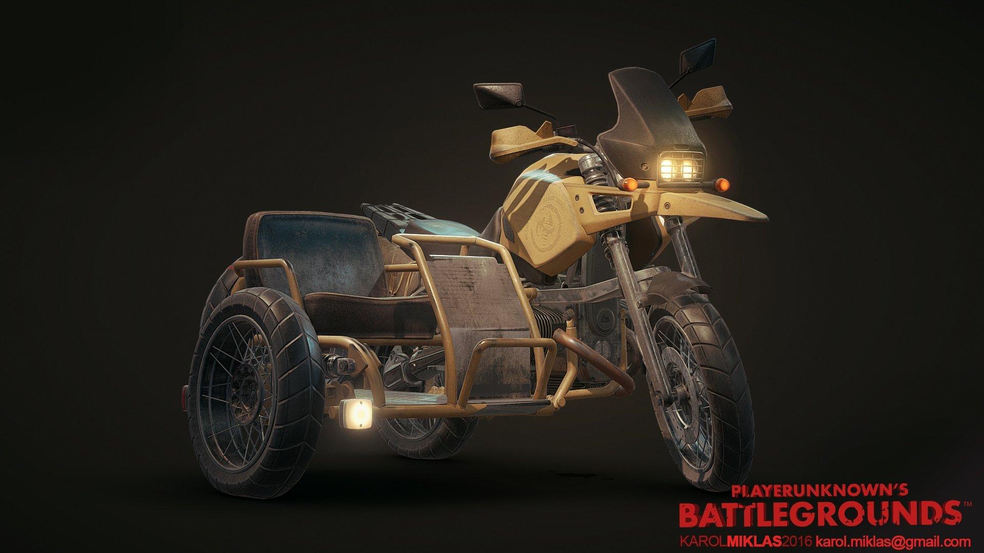 [Art Dump] PU: Battlegrounds Vehicles! Image Heavy