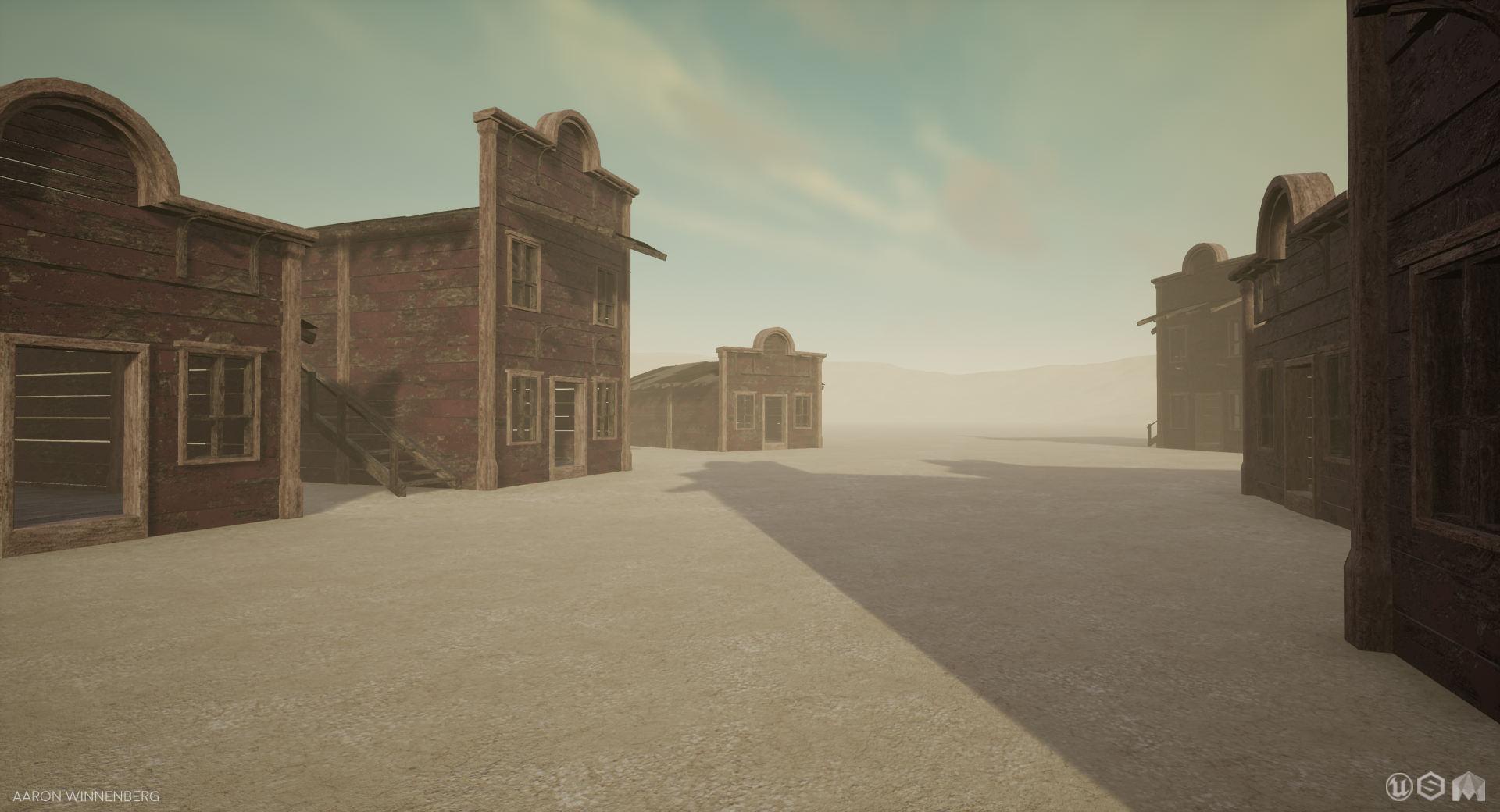 Old West Scene [UE4] (WIP) — polycount