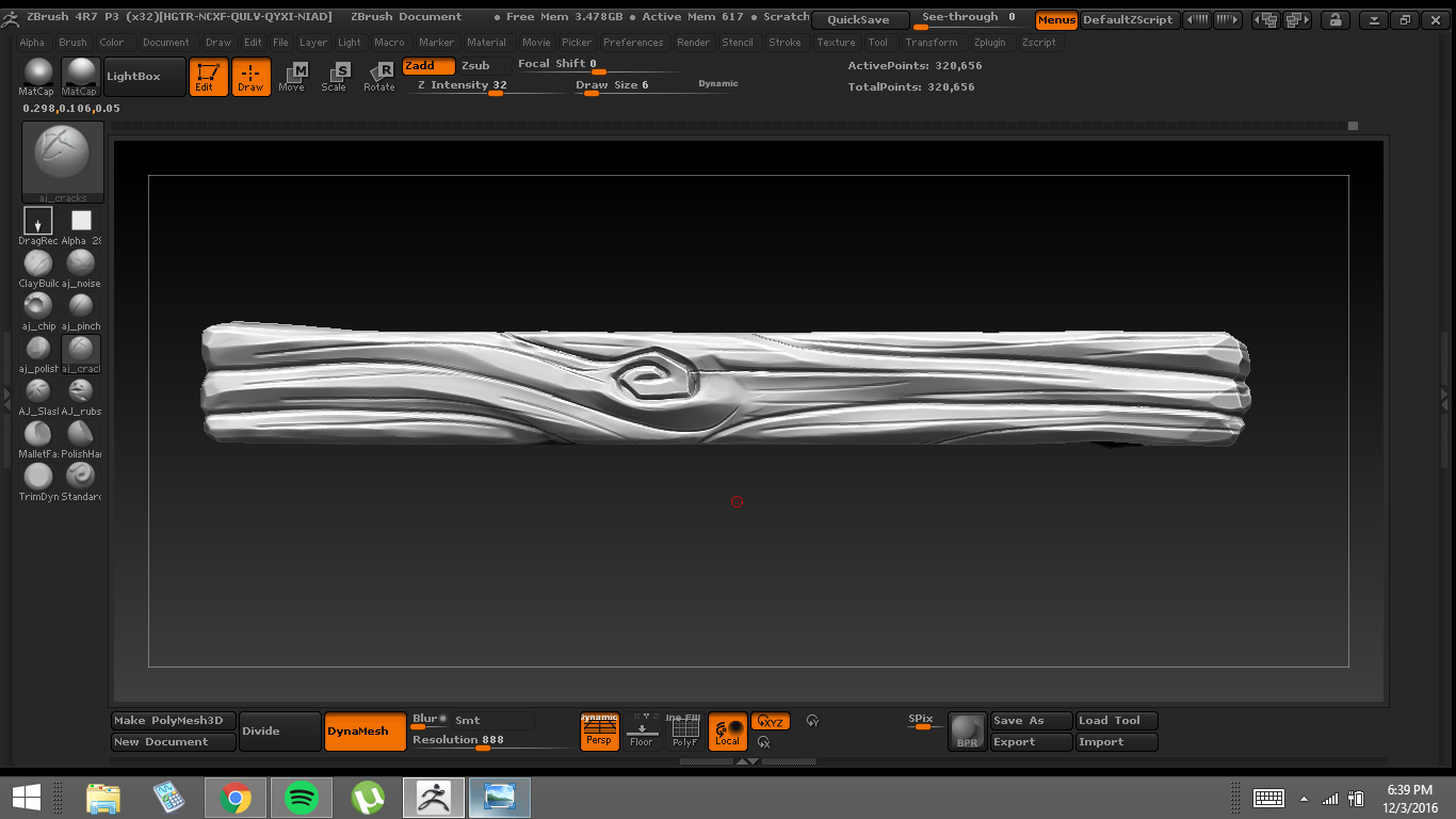 Sculpting Stylized wood [Zbrush] — polycount