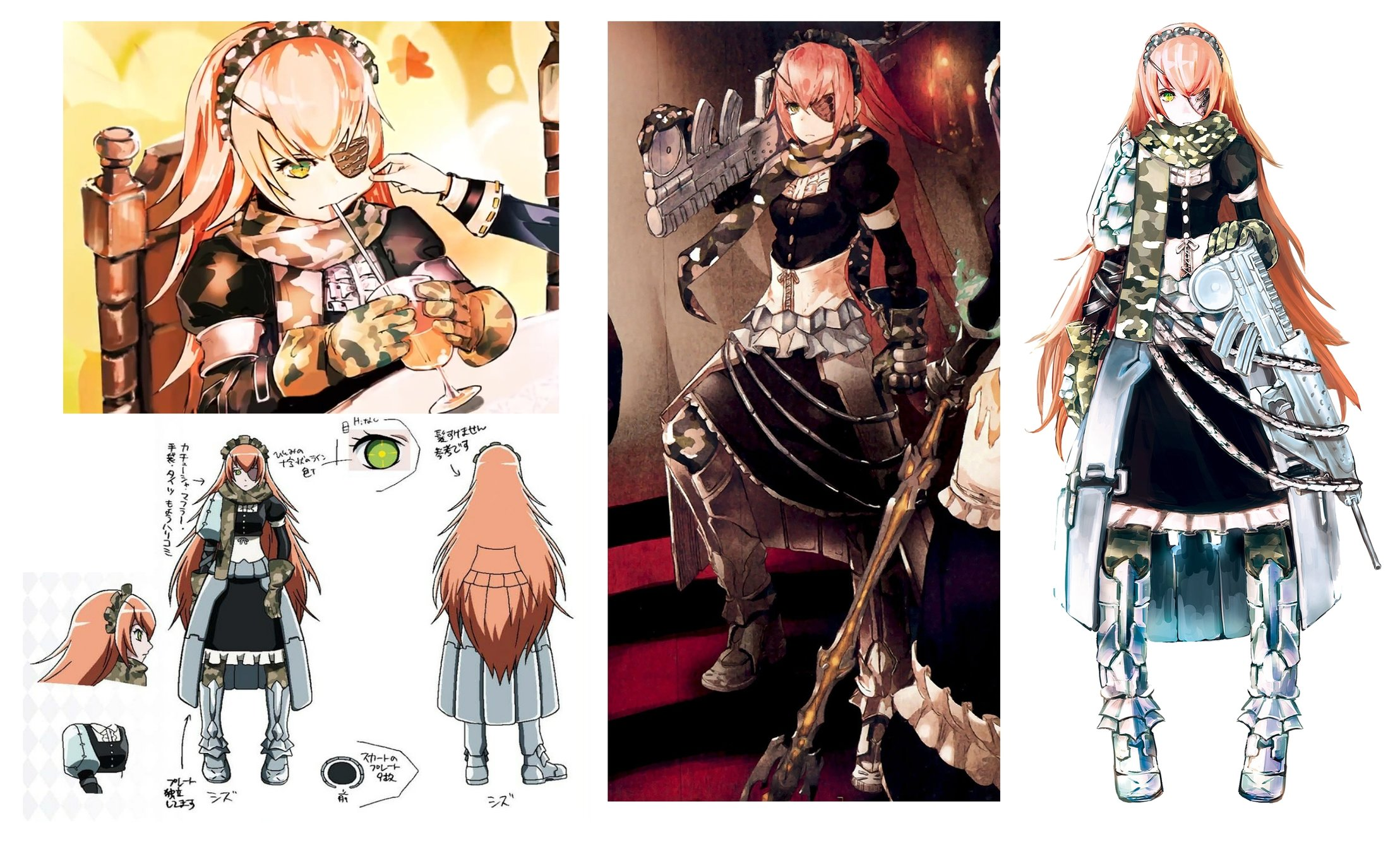 Character Designer Pay : Cz ・Δ wip fanart — polycount