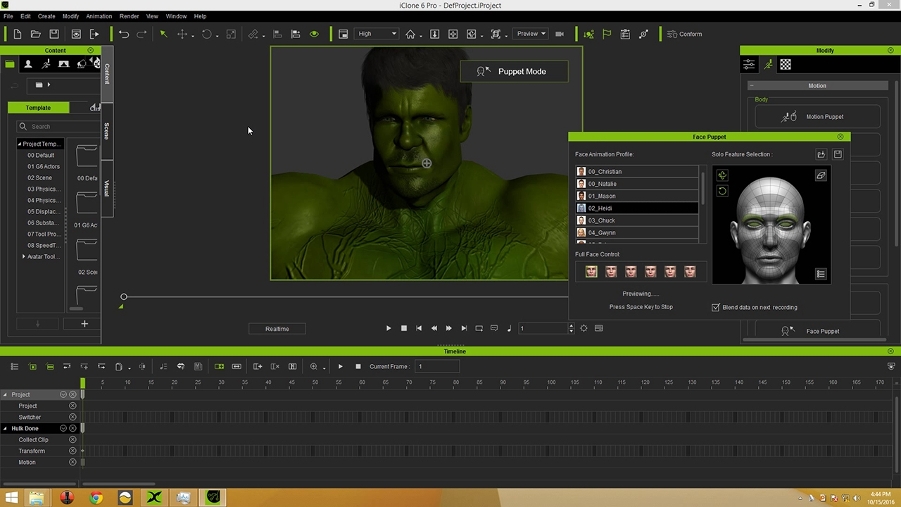 3d Character Design Competition : Reallusion iclone d character design contest hulk