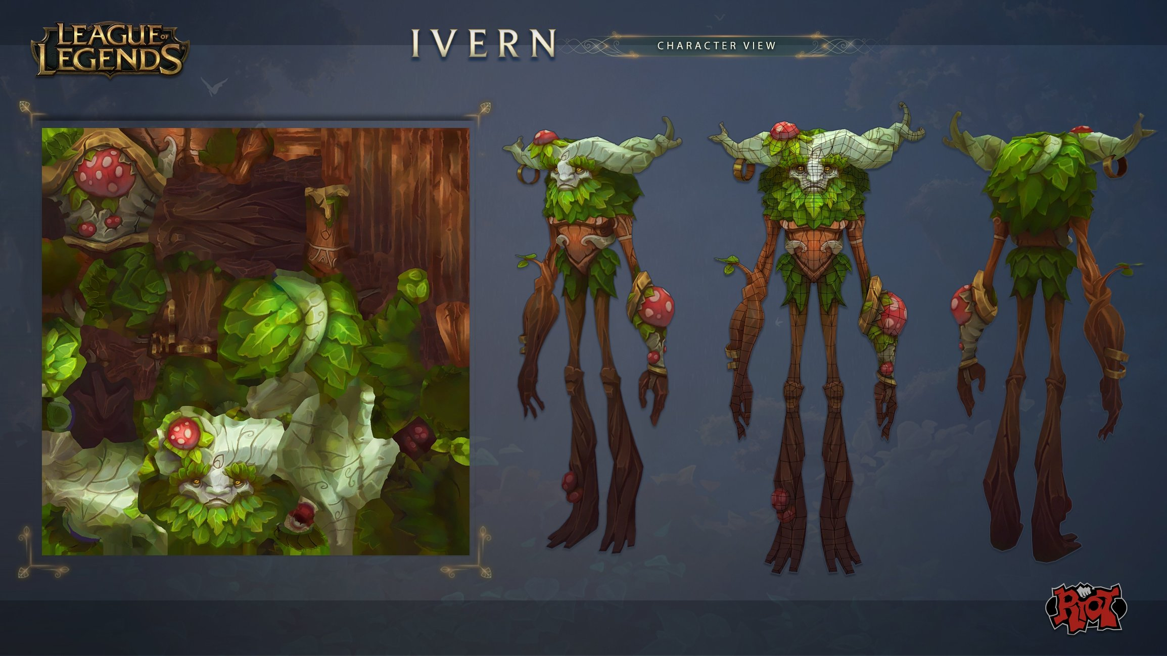 Ivern The Green Father League Of Legends Polycount