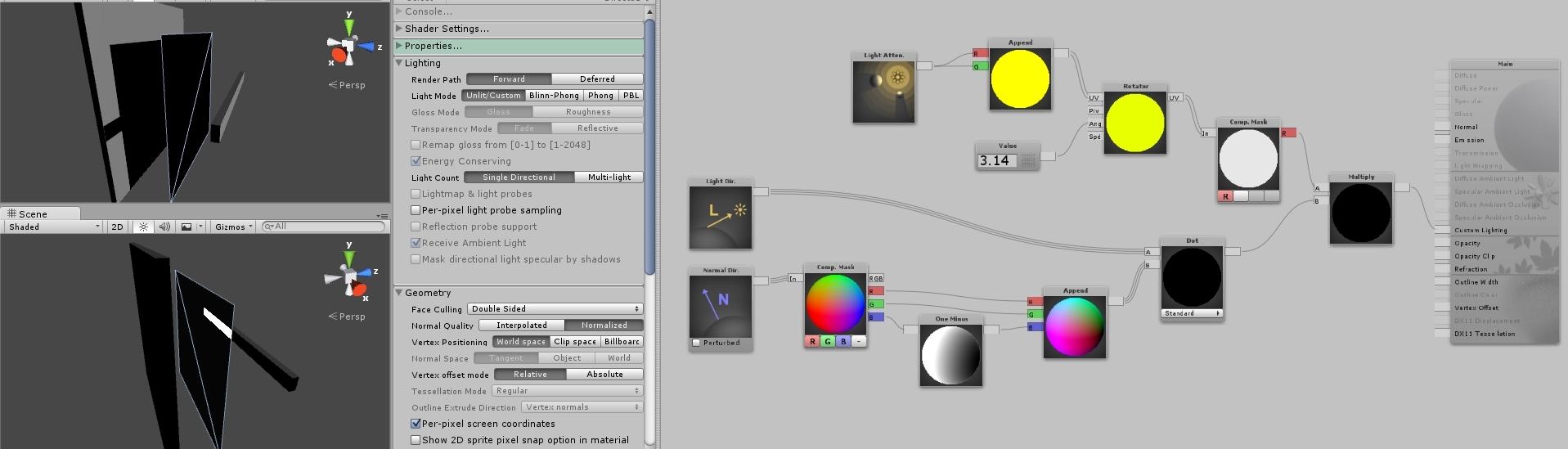 Leaf Cloth Shader Shadows On Back Polycount Lighting Diagram Editor 2016 10 29 150833