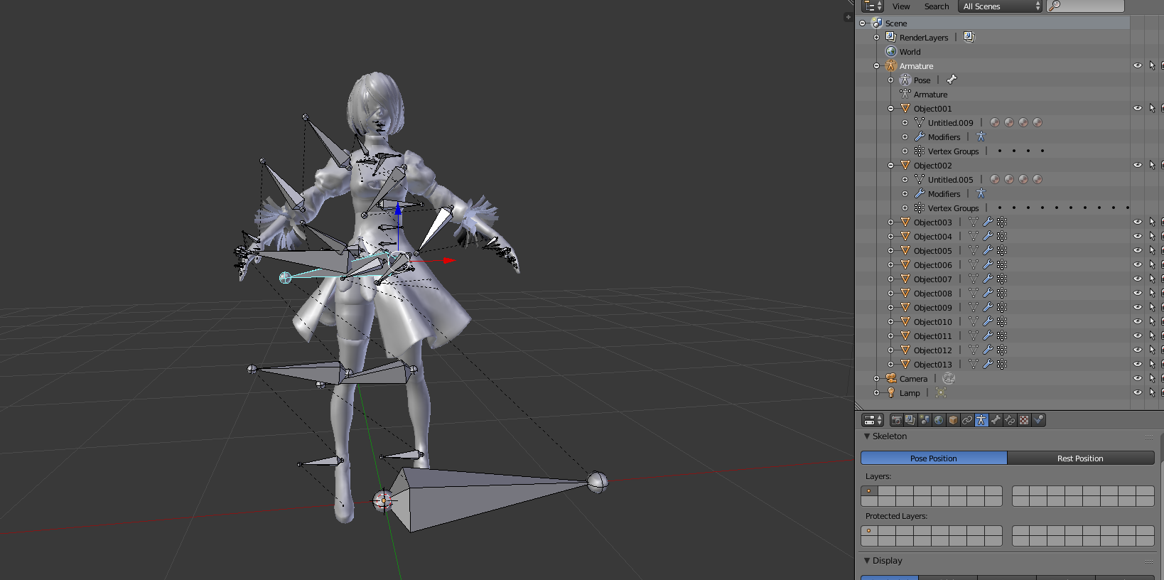 Importing FBX files into Blender error? — polycount