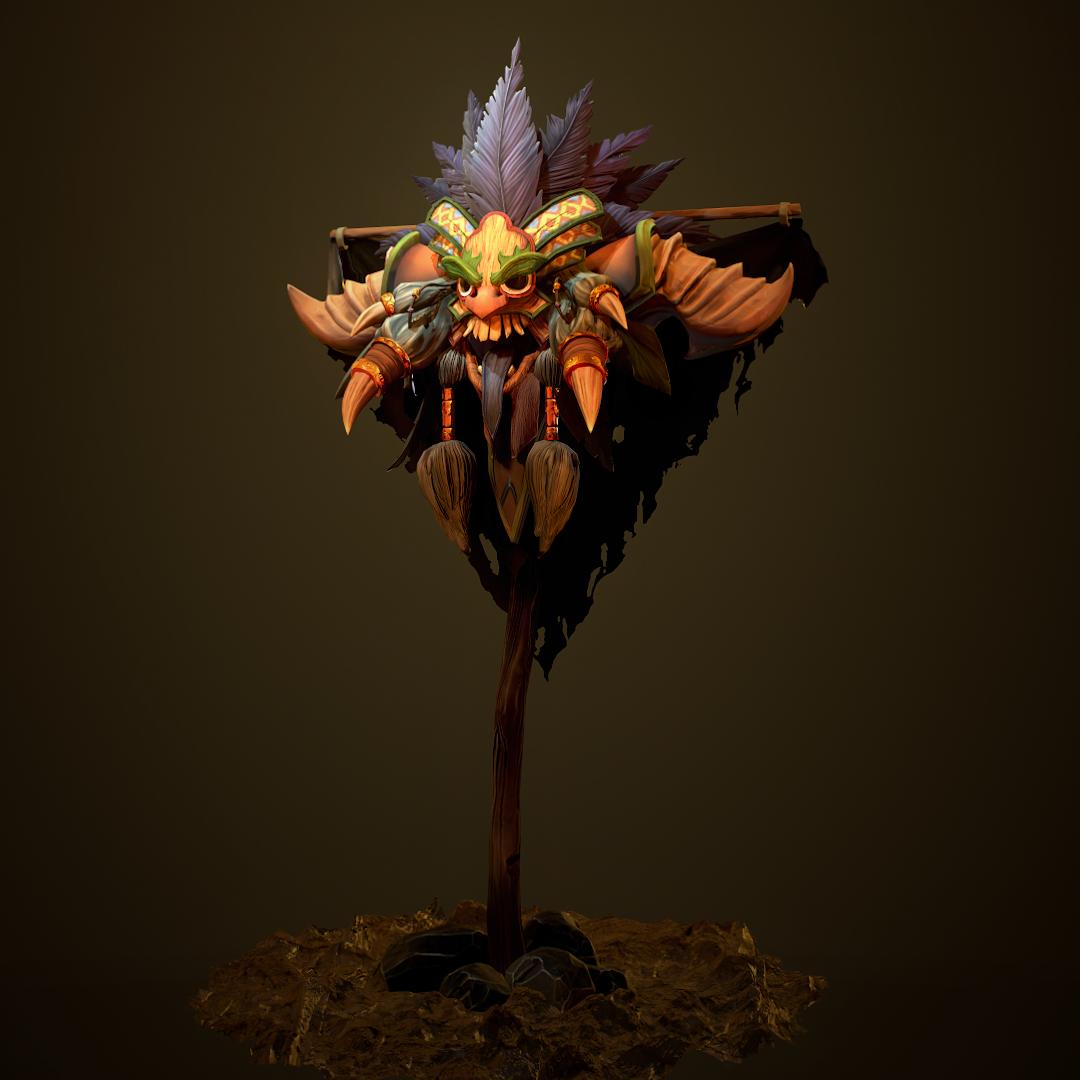 diablo character 3d model