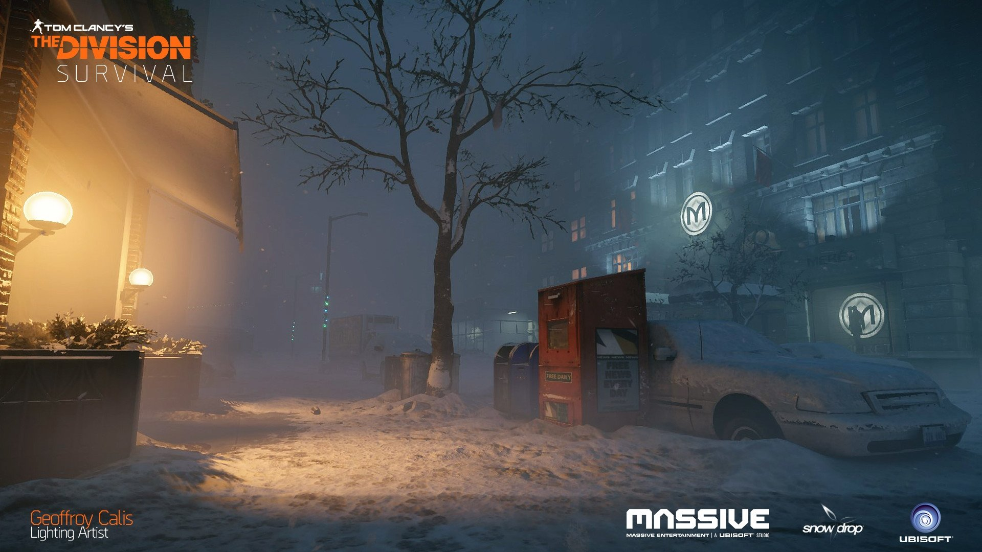 More images on my Artstation  //.artstation.com/artwork/vxAvA & The Division : Survival - Lighting Art u2014 polycount azcodes.com