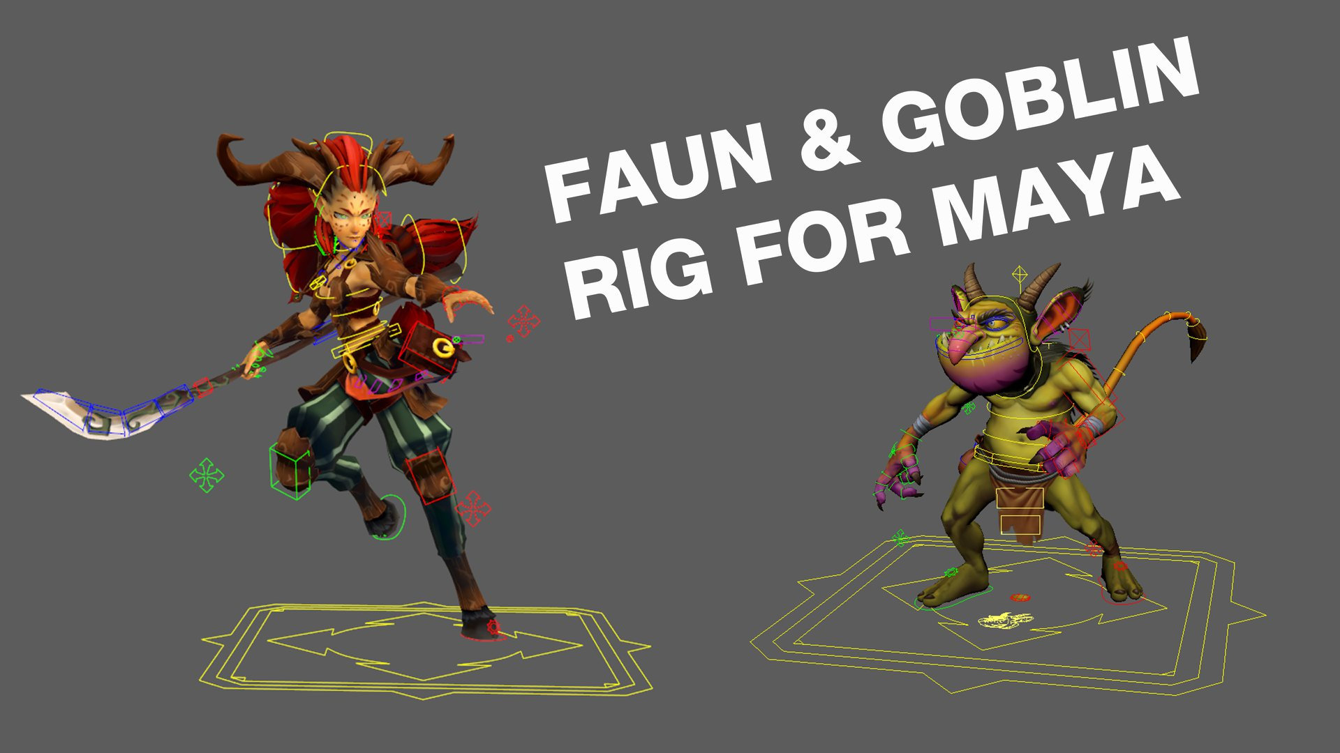 2 Rigs for game — polycount