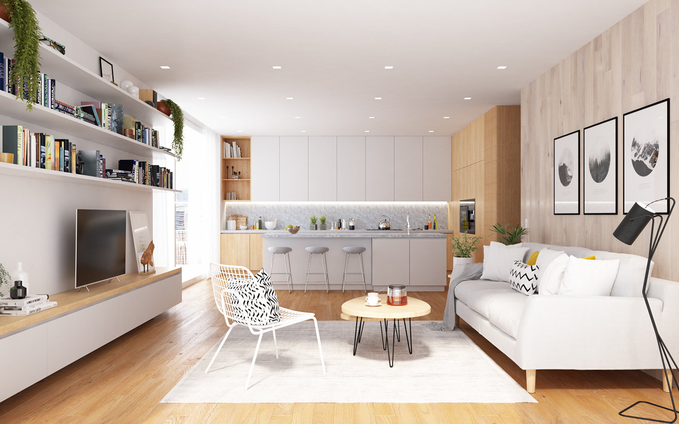 Sweden Apartment Free 3d Interior Scene Polycount