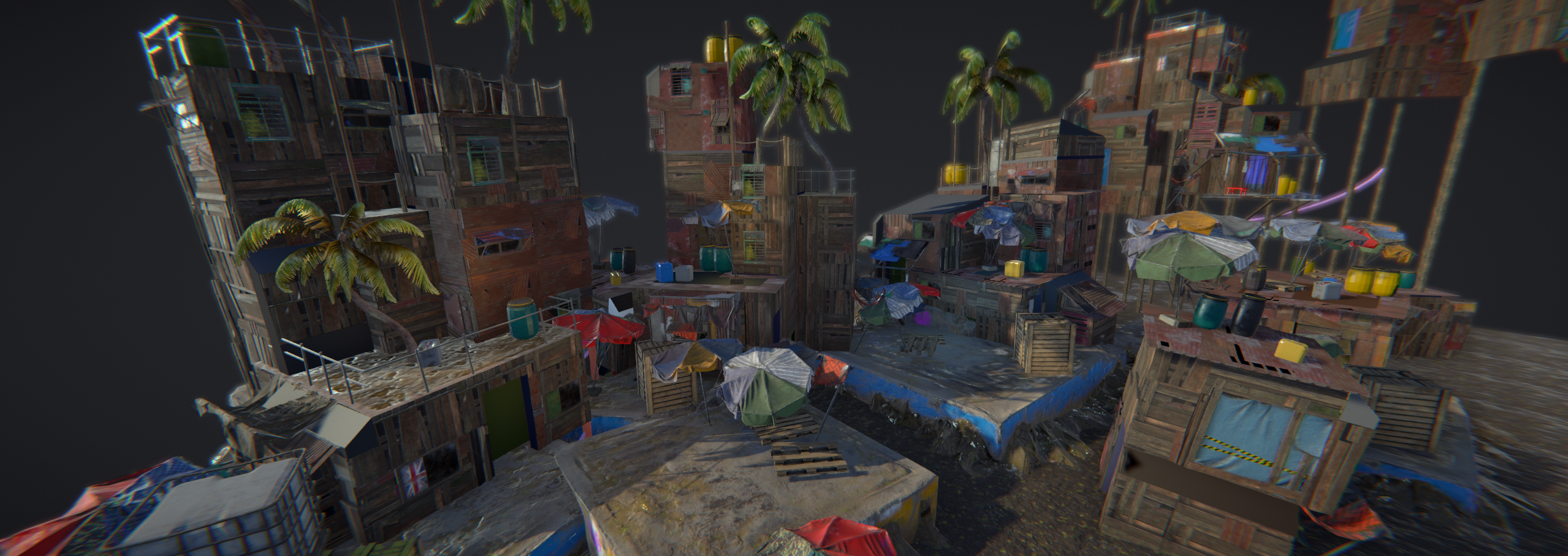 Unity] Shanty Town — polycount