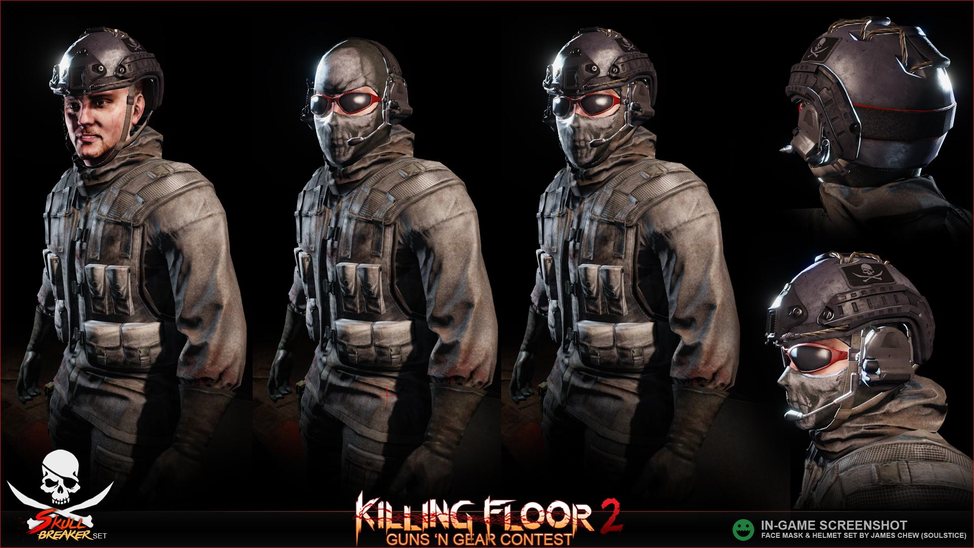 Kf2 Item Set Skull Breaker Helmet Amp Mask Polycount